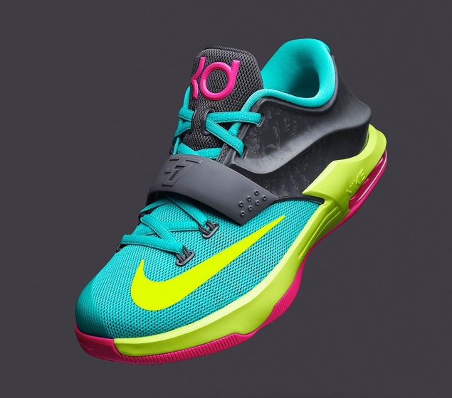 Kids Nike KD 7 Kevin Durant shoes on sale