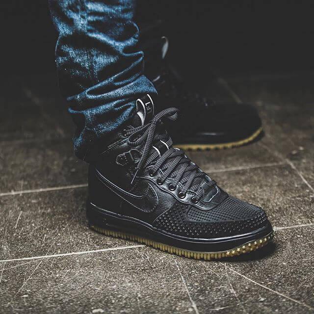 On Feet: Nike Lunar Force 1 Duckboot Olive | 99kicks