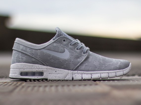 negar Exagerar ambiente  Nike SB Stefan Janoski Max Grey | Where To Buy | 631303-001 | The Sole  Supplier
