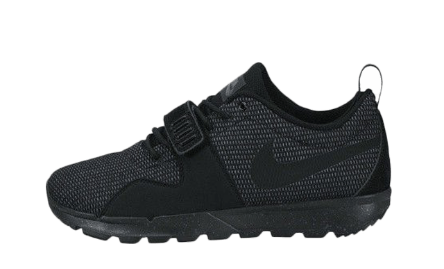 dañar Temblar Sustancialmente  Nike SB Trainerendor Triple Black - Where To Buy - 616575-002 ...