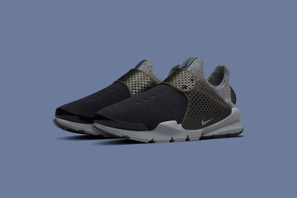 NikeLAB Sock Dart Tech Fleece Cool Grey