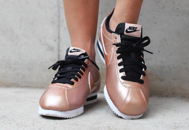 Nike WMNS Classic Cortez LTR Metallic