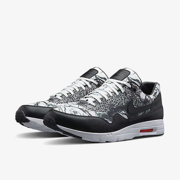 air max 1 metallic silver