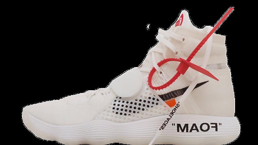 compensar compañero Templado  Off-White x Nike React Hyperdunk | Where To Buy | AJ4578-100 | The Sole  Supplier