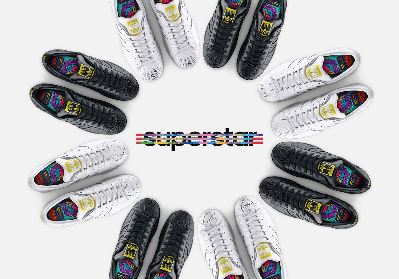 Pharrell Williams x adidas Superstar Supershell