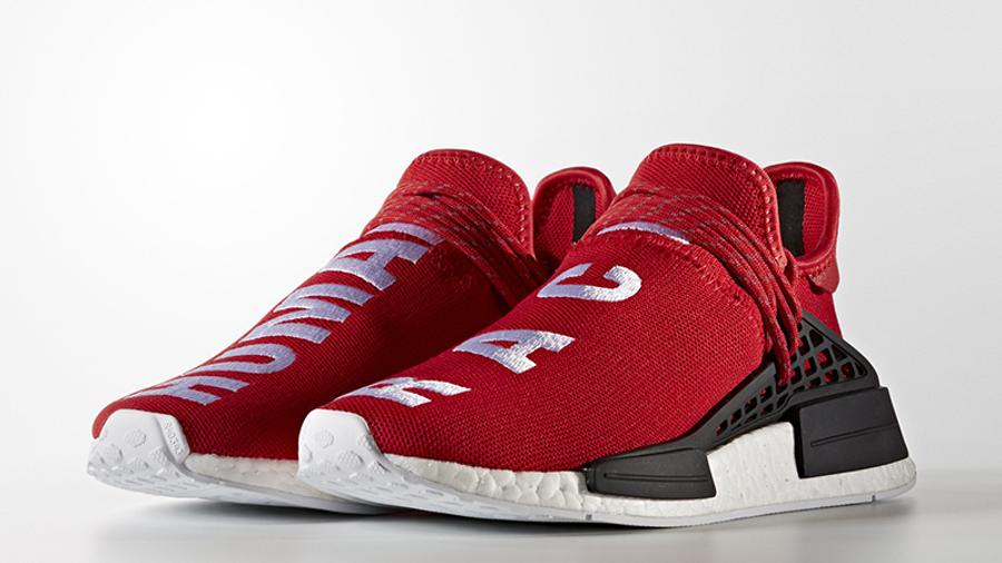 Pharrell x adidas HU NMD Red | Where To
