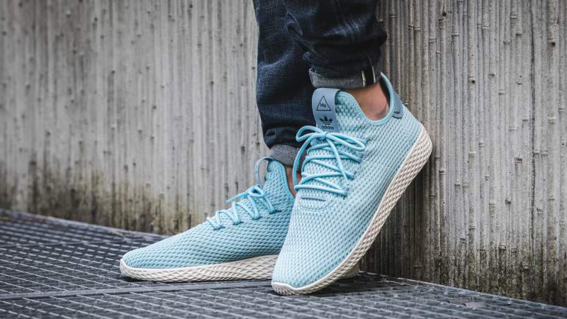 adidas pharrell tennis hu on feet