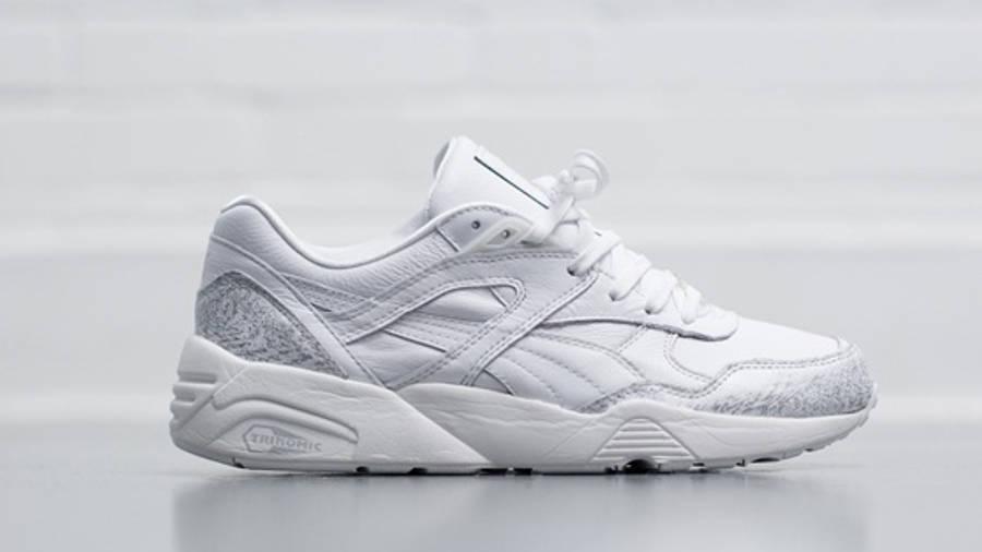 Puma R698 Snow Splatter Pack White