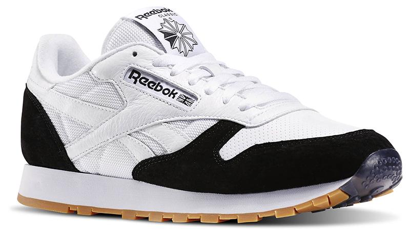 black reebok trainers