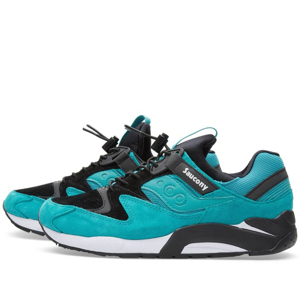 Saucony Grid 9000 PRM Bungee Pack Green - Where To Buy - 70196-4