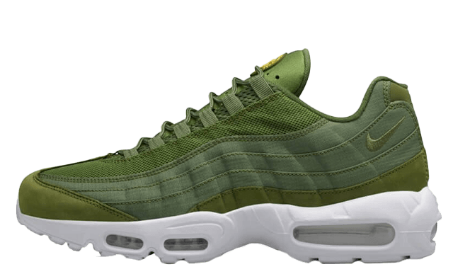 Arreglo Ingenioso Agresivo  Stussy x Nike Air Max 95 Green | Where To Buy | 834668-337 | The Sole  Supplier