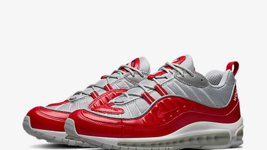 Supreme x Nike Air Max 98 Red   Where