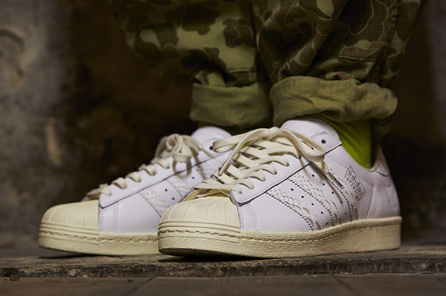 adidas consortium x undefeated superstar 80s '10th anniversary pack'