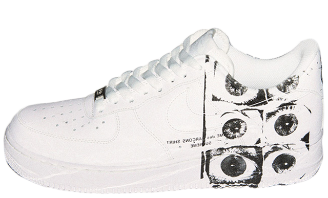 Supreme x Comme des Garcons Shirt x Nike Air Force 1 - Where To