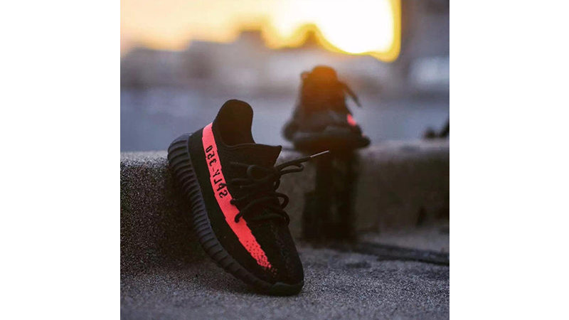 Adidas Shoes | Yeezy Boost 350 V2 Bred Black Red | Poshmark