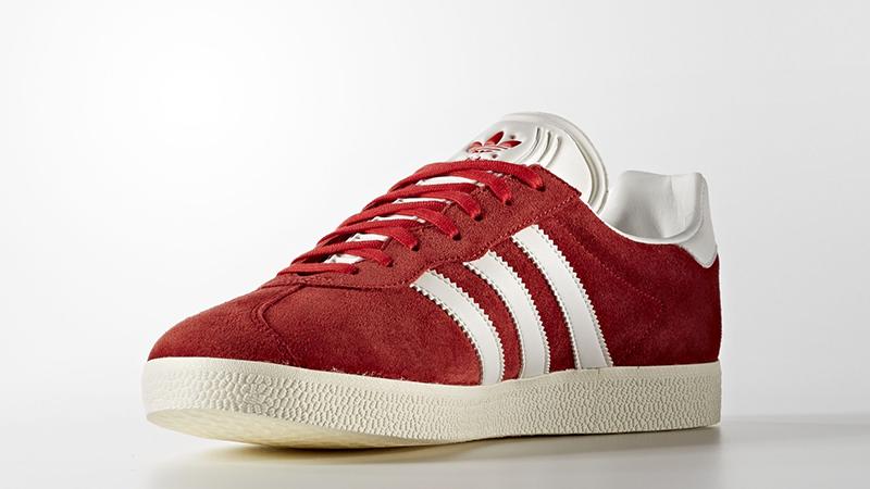 adidas Gazelle Super Red White