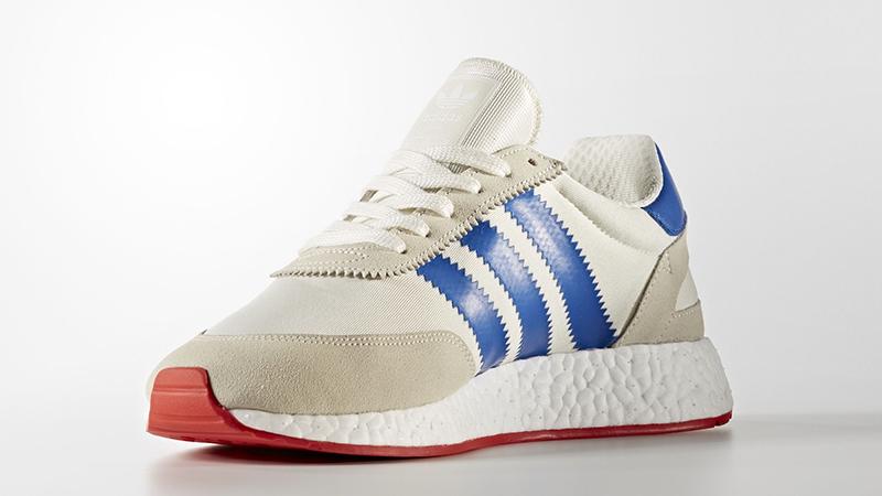 Adidas Iniki Runner White Navy | BB2093