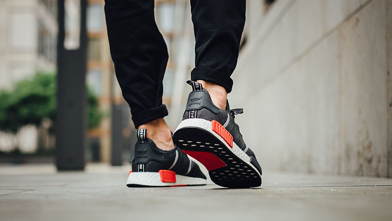 pub africano Exponer  adidas NMD R1 Grey Red   Where To Buy   S31510   The Sole Supplier
