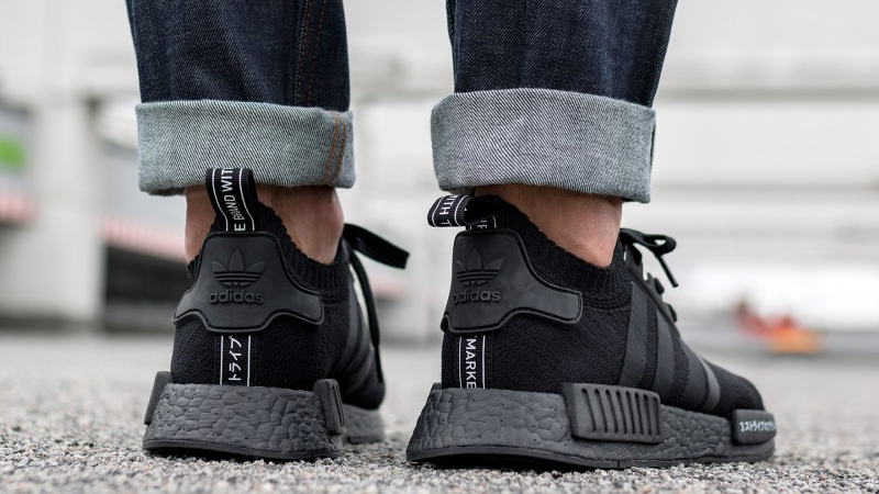 adidas nmd r1 triple black japan