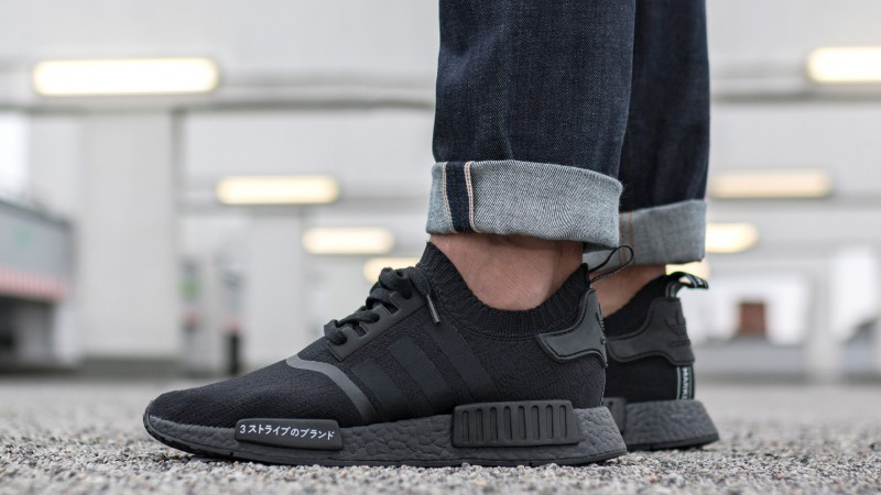 Adidas Nmd R1 Primeknit Japan Triple Black Where To Buy Bz0220