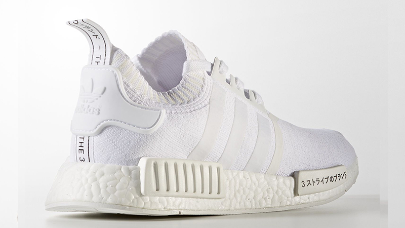 Adidas NMD R1 Triple White Japan Boost, Men's Fashion