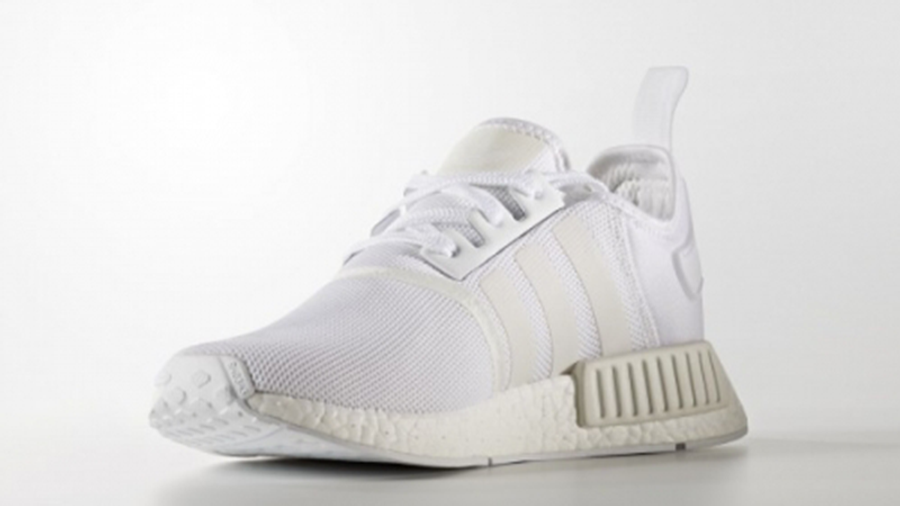 adidas NMD R1 Triple White Colour Boost Pack | Where To Buy ...