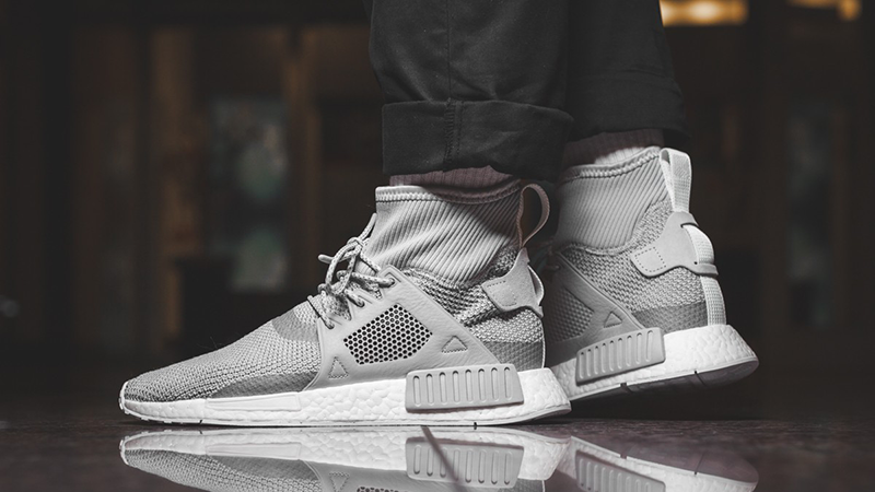 Adidas Originals NMD XR1 Men Boost Winter Pack Grey Shoes