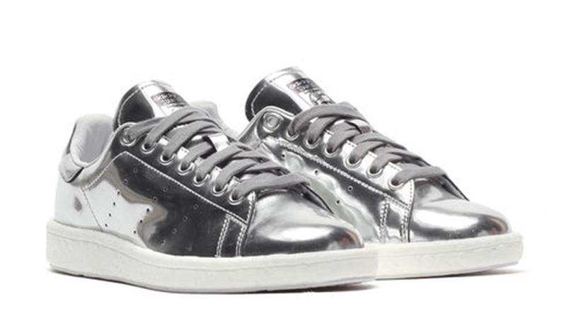 stan smith adidas silver