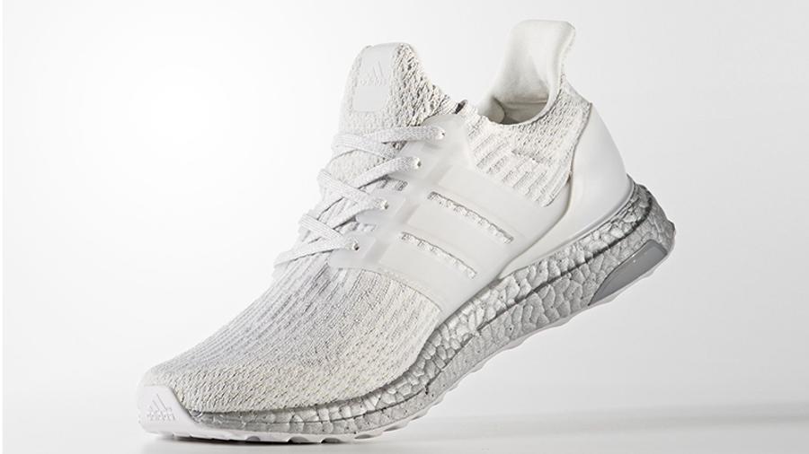 adidas Ultra Boost 3.0 White Silver