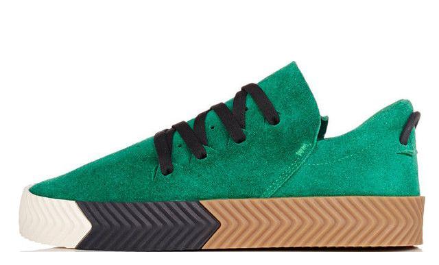 adidas x Alexander Wang Aw Skate Green