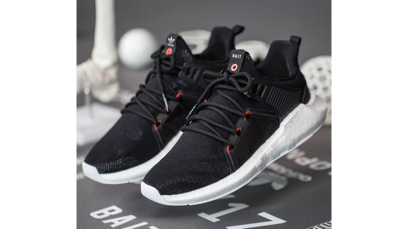 adidas x BAIT EQT Support Future Boost R&D Pack Black White