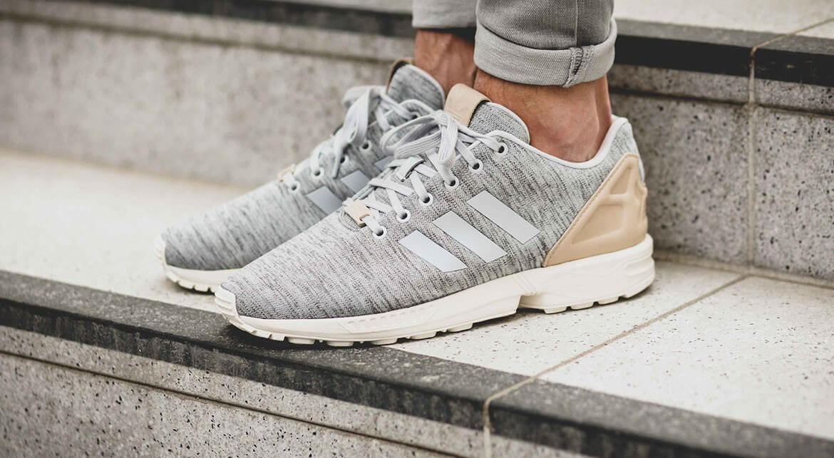 adidas Originals ZX Flux Solid Grey