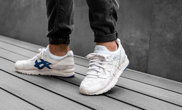 Asics X Colette Gel Lyte V Yukata Leather Shoes