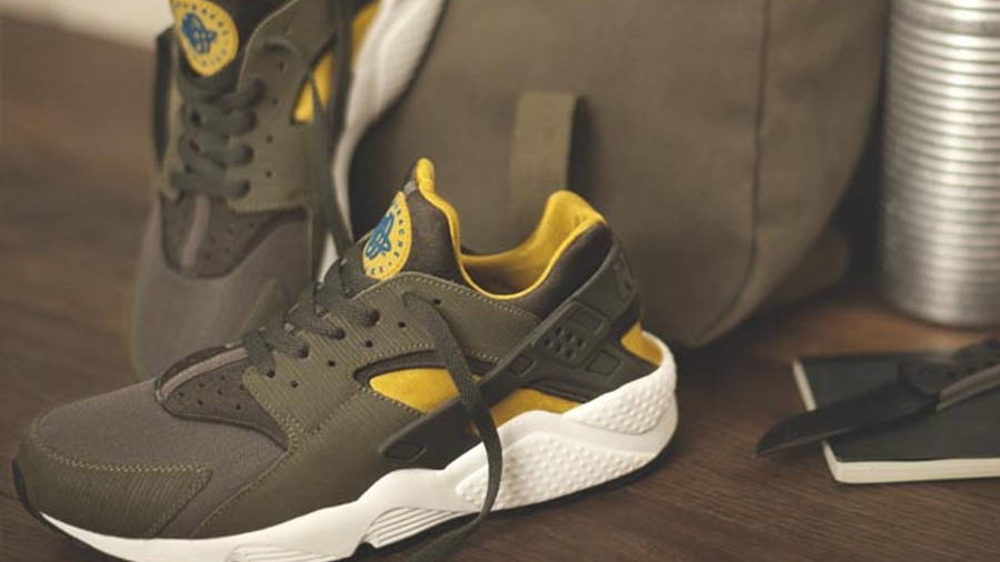 Nike Air Huarache Army Green | Where To Buy | undefined | The Sole ...