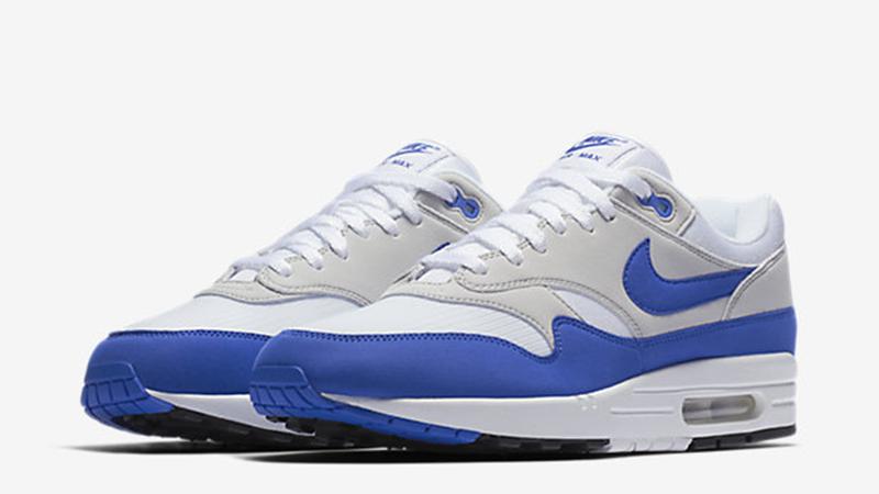 nike air max 1 blue grey white