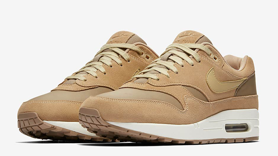 Nike Air Max 1 Premium Leather Tan