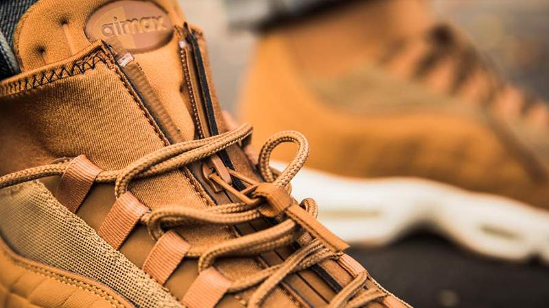 Nike Air Max 95 SneakerBoot Flax 806809 201