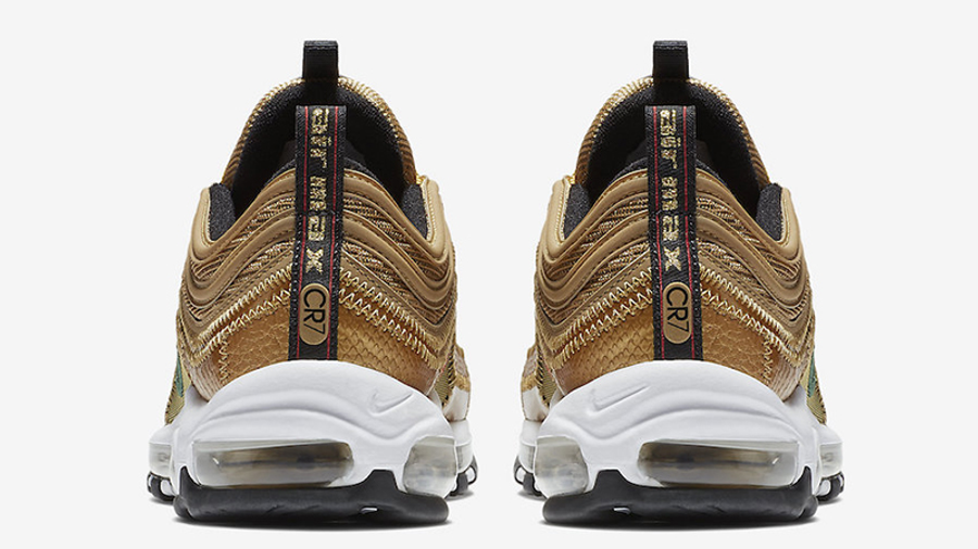 Nike Air Max 97 CR7 Gold   Where To Buy   AQ0655-700   The Sole ...