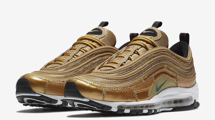 Nike Air Max 97 CR7 Gold | Where To Buy