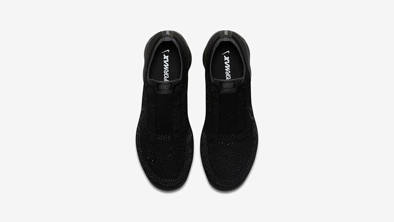 nike vapormax black no laces