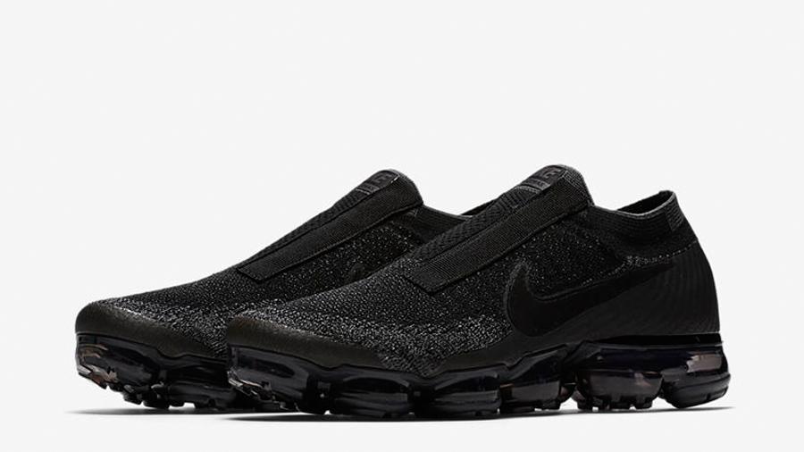Nike Air Vapormax Laceless Black
