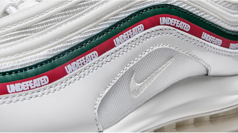 air max 97 undefeated white