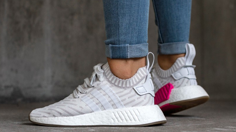 Adidas Nmd R2 Primeknit White Pink Where To Buy By9954 The
