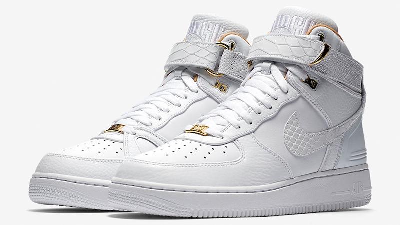 Nike Air Force 1 Hi Just Don White