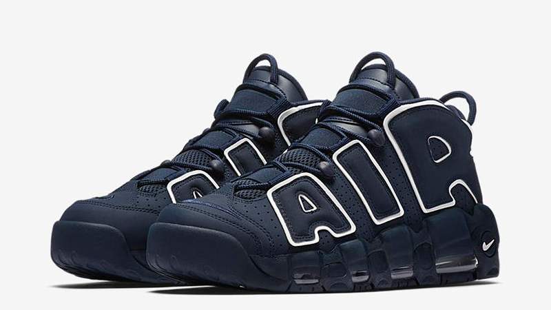 Nike Air More Uptempo Obsidian   Where