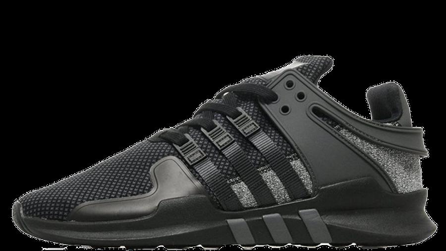 adidas EQT Support ADV Black Grey JD Exclusive