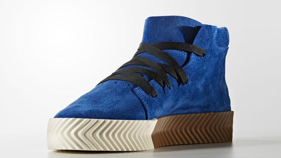 adidas x Alexander Wang Skate Mid Blue