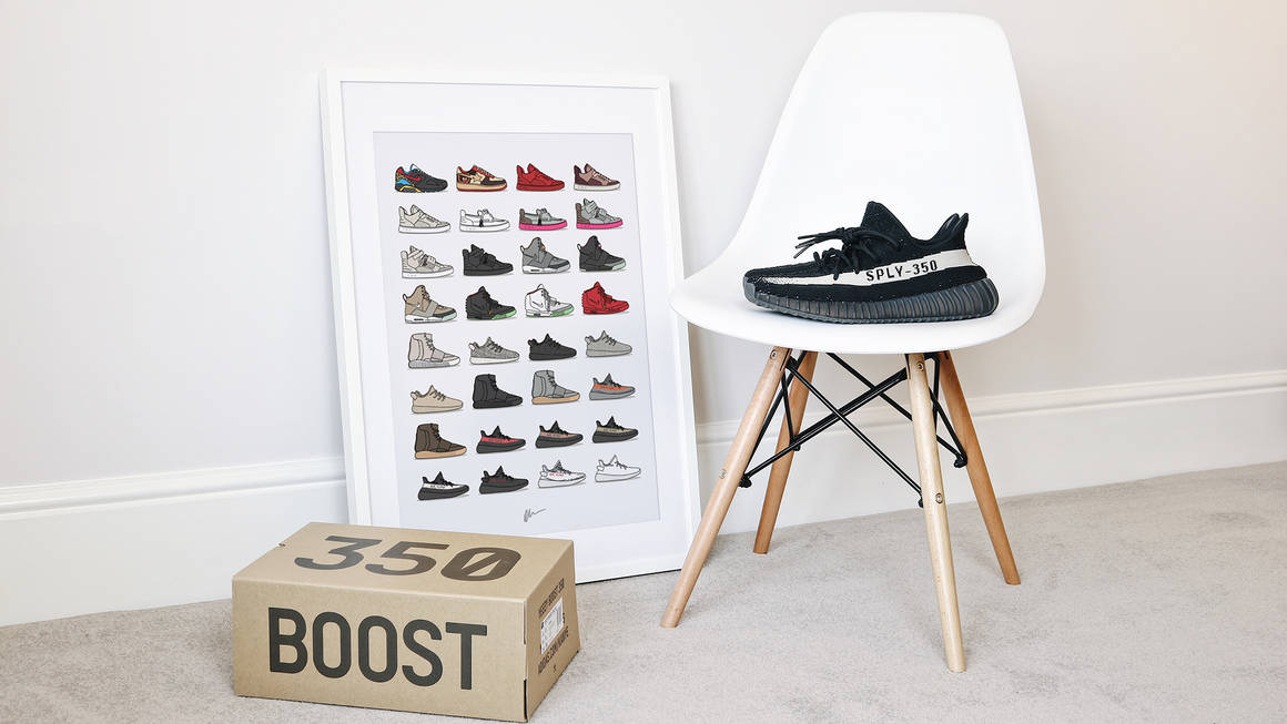This Sneaker Wall Art By Kick Posters Is The Perfect Gift For Any Sneakerhead 7