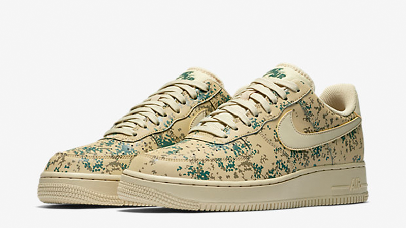Nike Air Force 1 07 LV8 Country Camo Pack Golden Beige