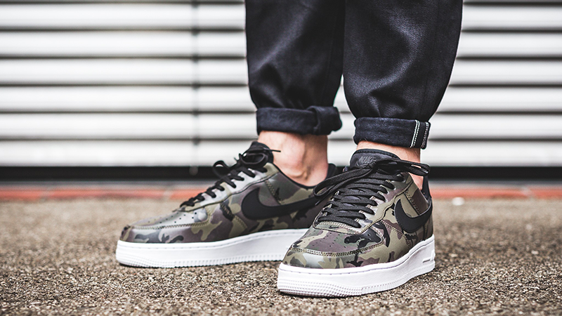 Nike Air Force 1 07 LV8 Country Camo Pack Olive